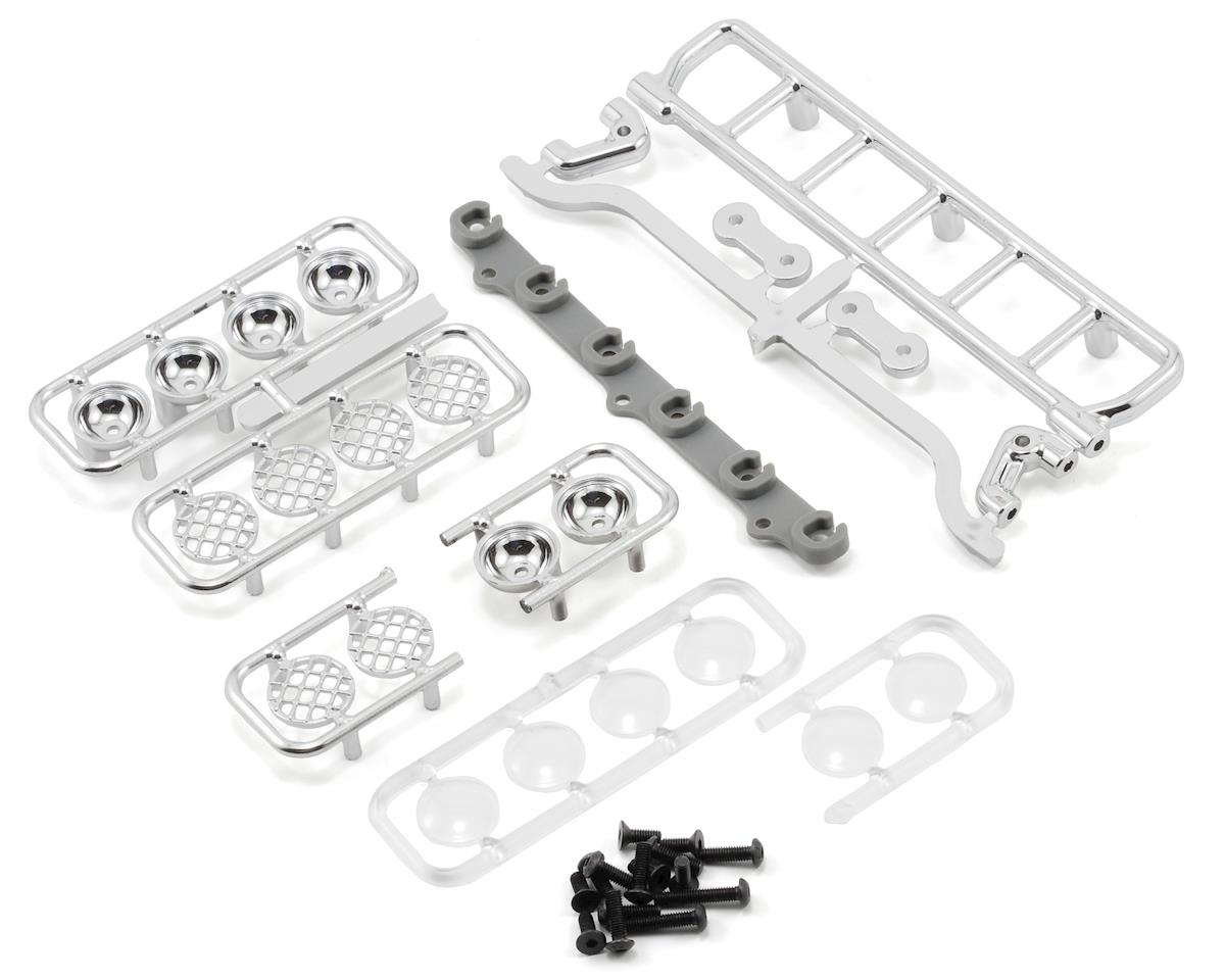 RPM Roof Mount Light Bar Set (Chrome) (Losi Strike)