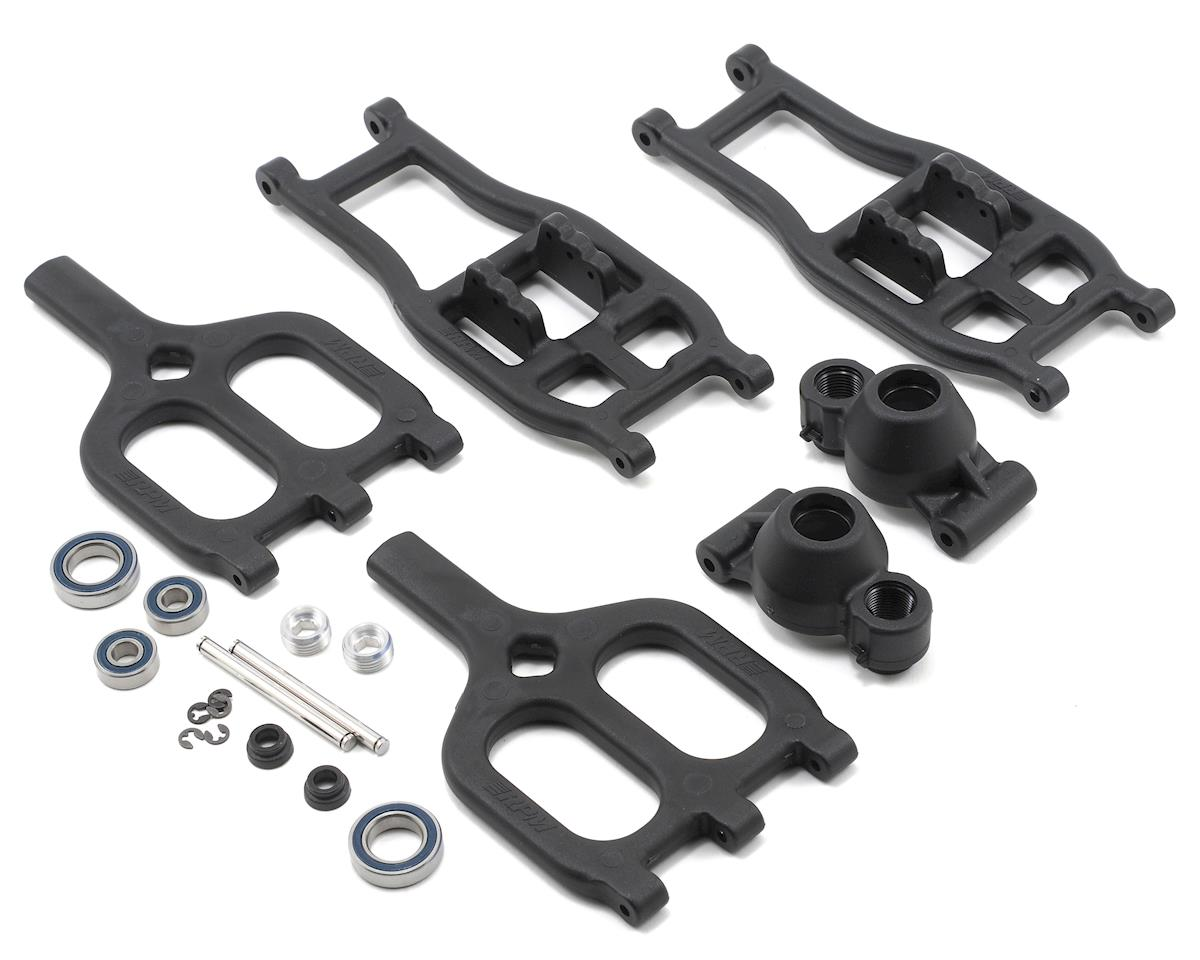RPM True-Track Rear A-Arm Conversion (Black) (Traxxas E-Maxx)