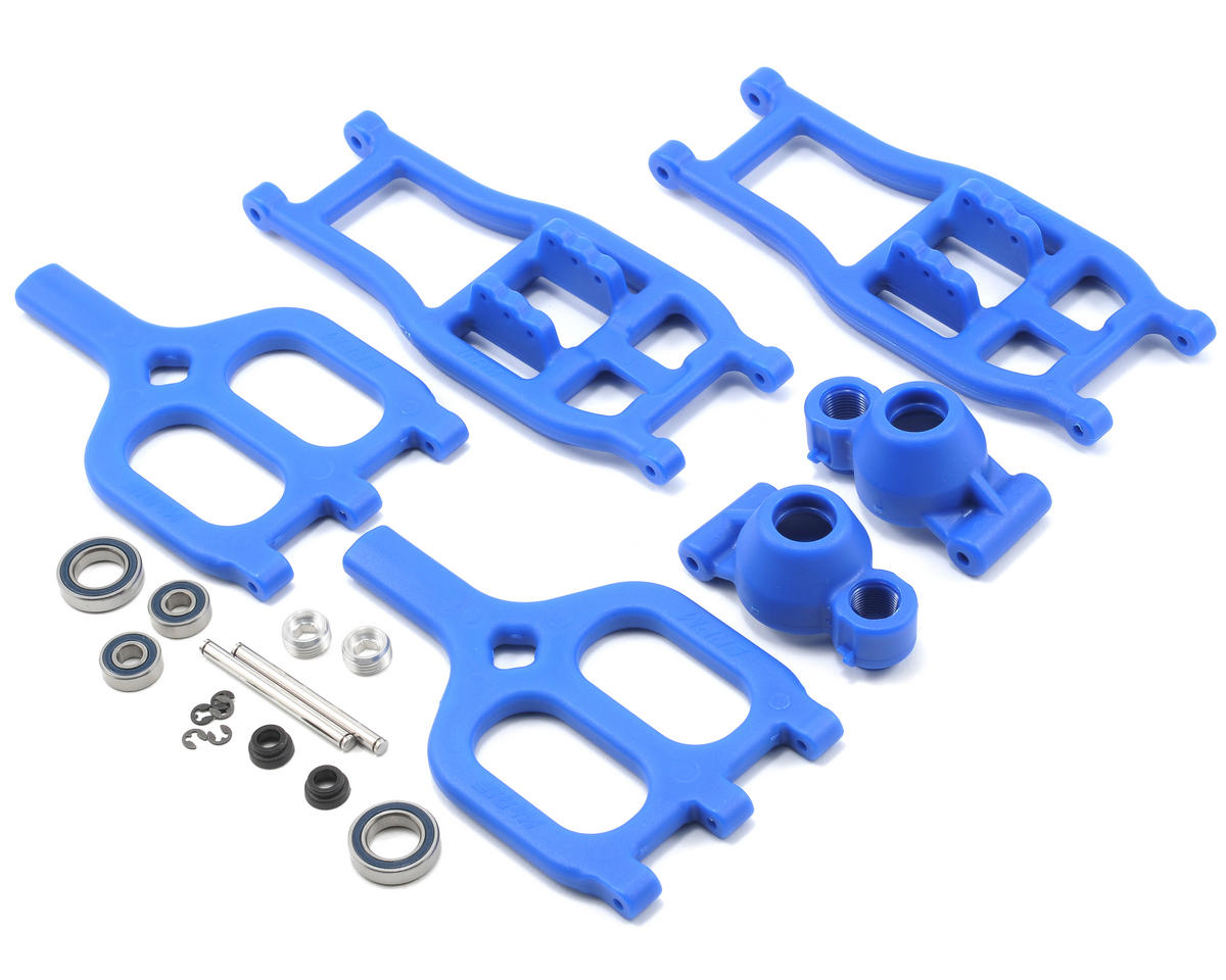 RPM True-Track Rear A-Arm Conversion (Blue)  (T/E Maxx 3.3) (Traxxas T-Maxx)