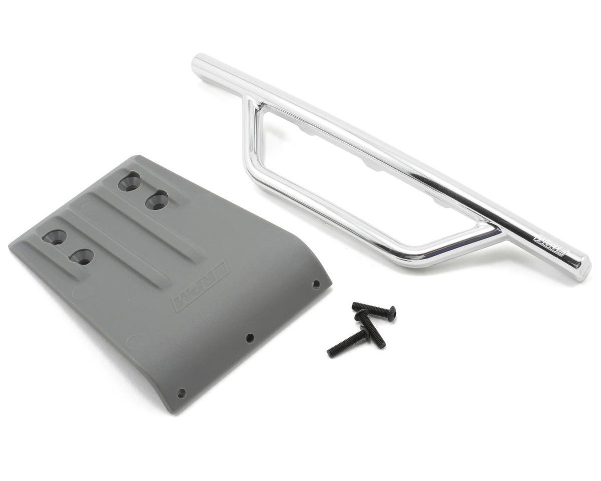 RPM Traxxas Slash Front Bumper & Skid Plate (Chrome)