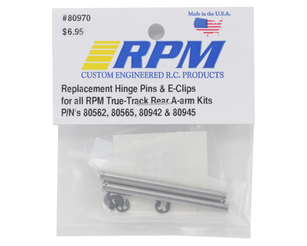 RPM Replacement Pin Set True-Track A-Arms