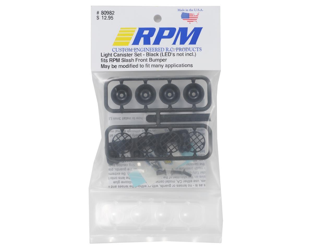 RPM Light Canister Set (Black) (Slash Bumper)