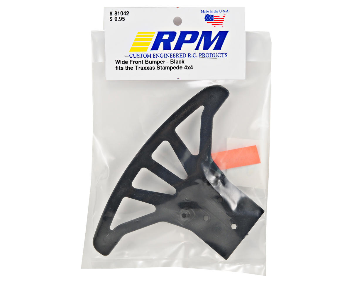 RPM Wide Front Bumper (Black)