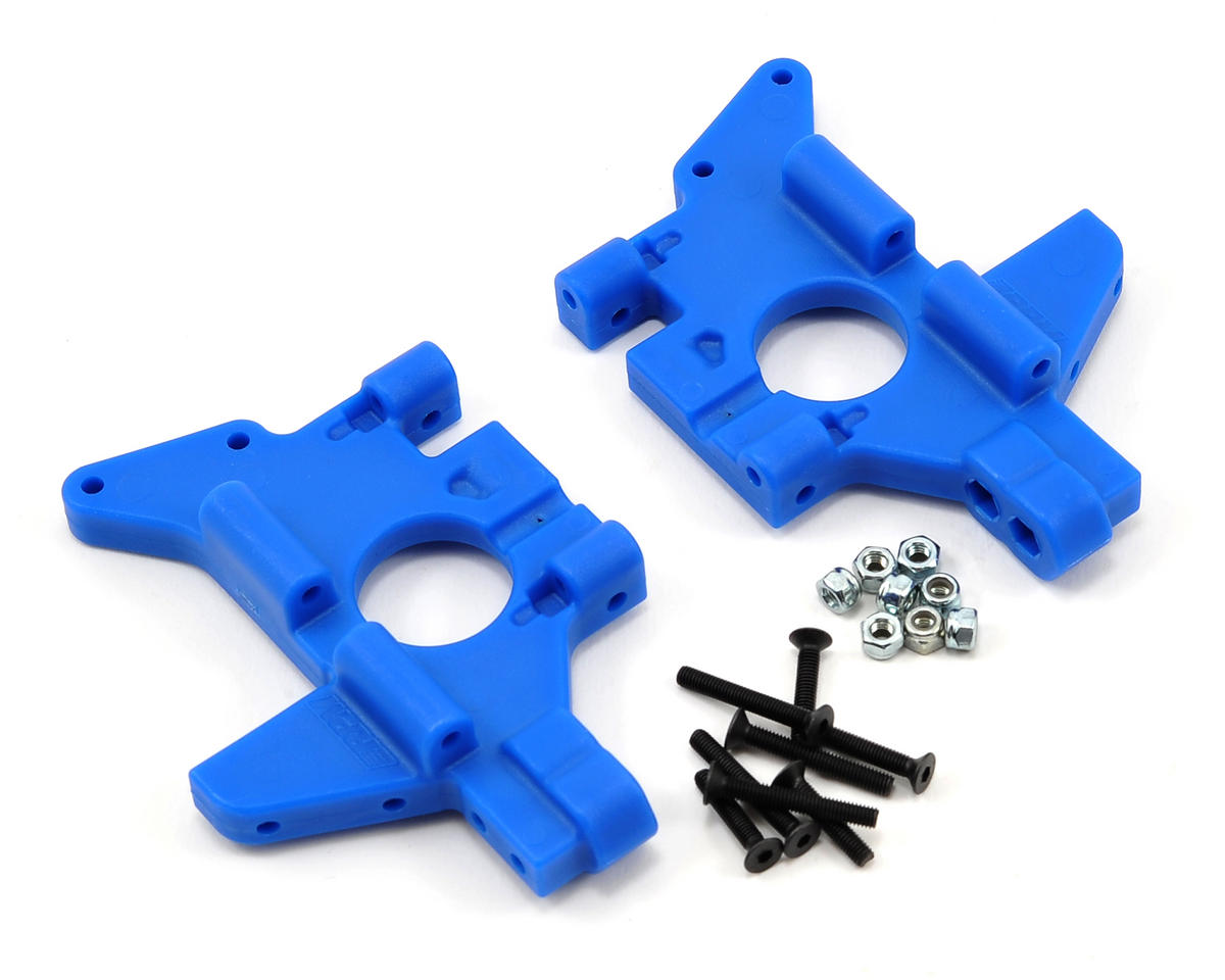 RPM Traxxas Maxx Rear Bulkhead Set (Blue)