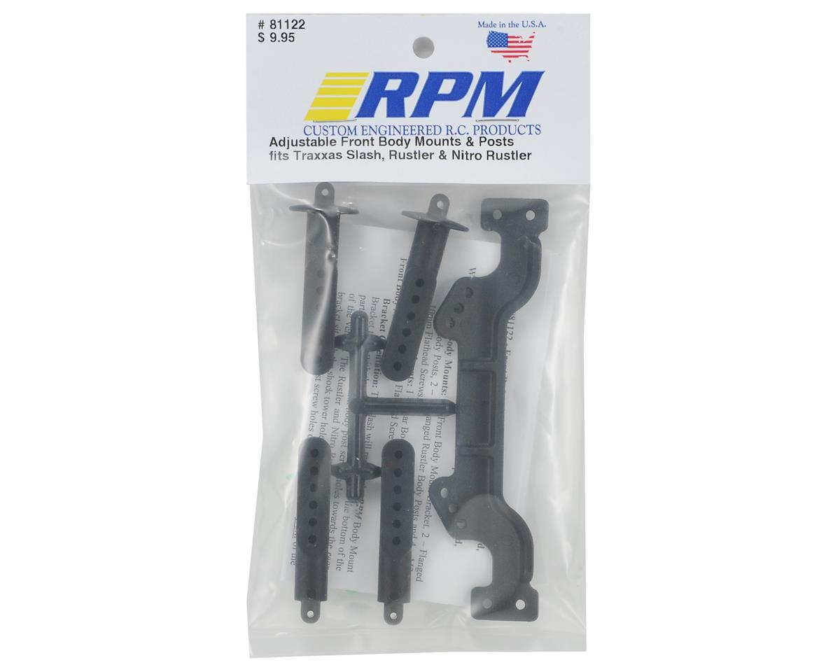 RPM Adjustable Front Body Mount & Post Set