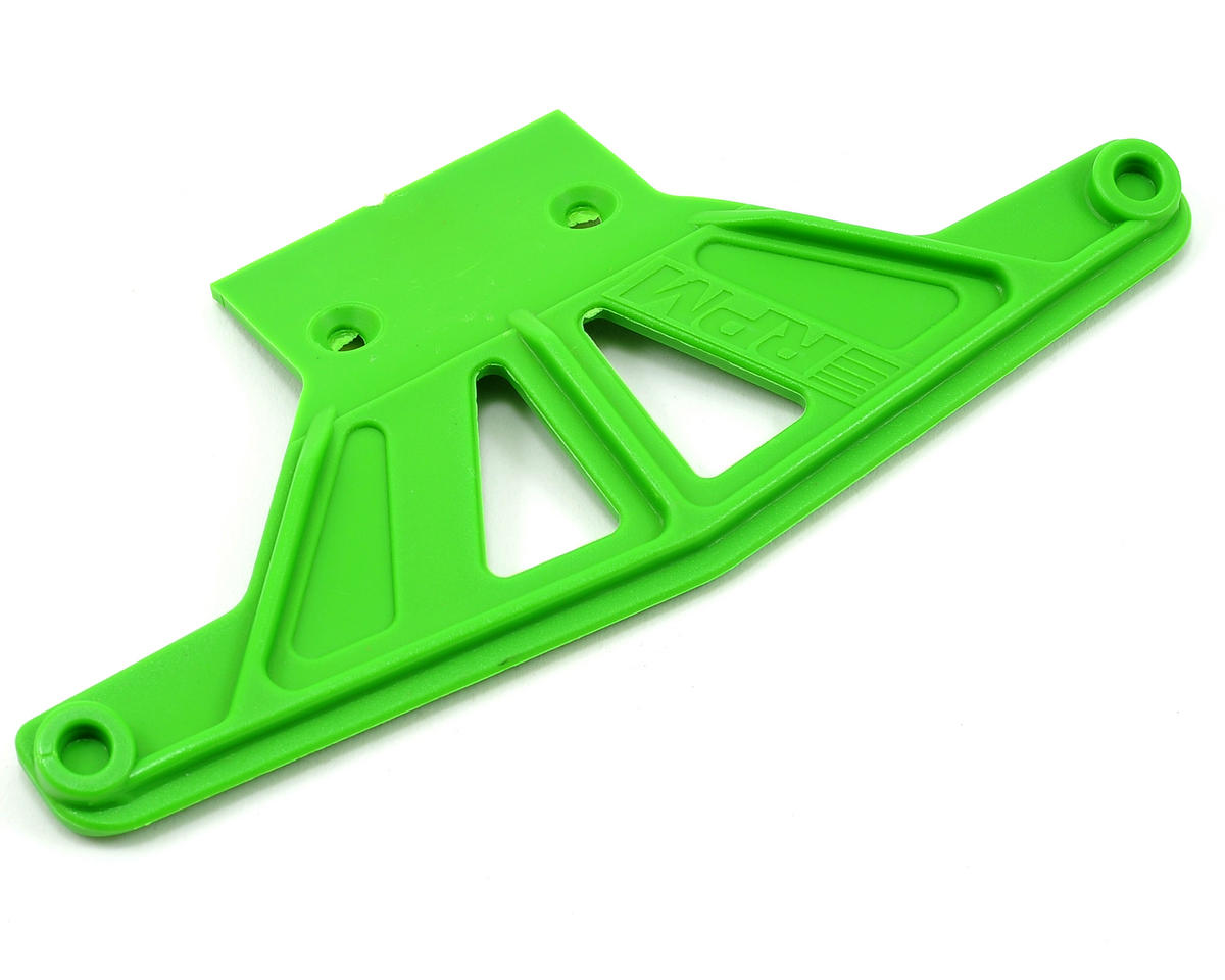 Traxxas Rustler/Stampede Wide Front Bumper (Green) by RPM