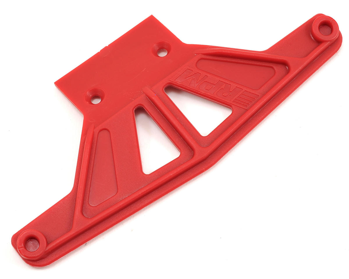 Traxxas Rustler/Stampede Wide Front Bumper (Red) by RPM