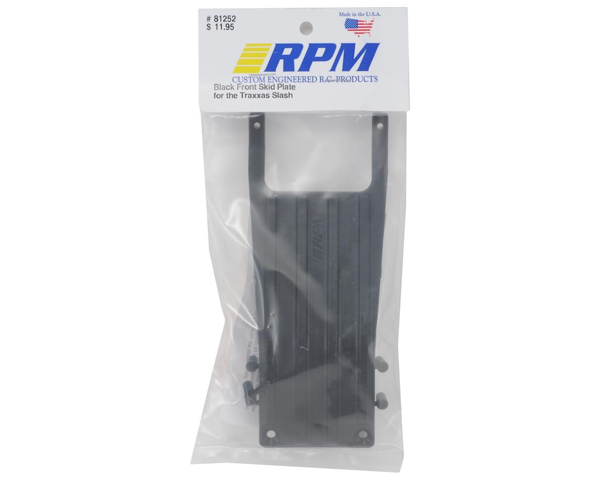 RPM Front Skid Plate (Black) (Slash)