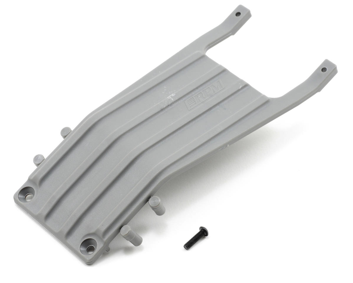 RPM Front Skid Plate (Gray) (Slash)