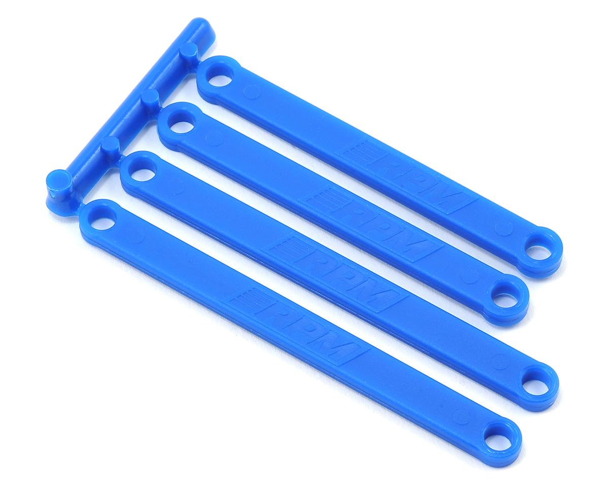 Traxxas Camber Link Set (Blue) (4) by RPM