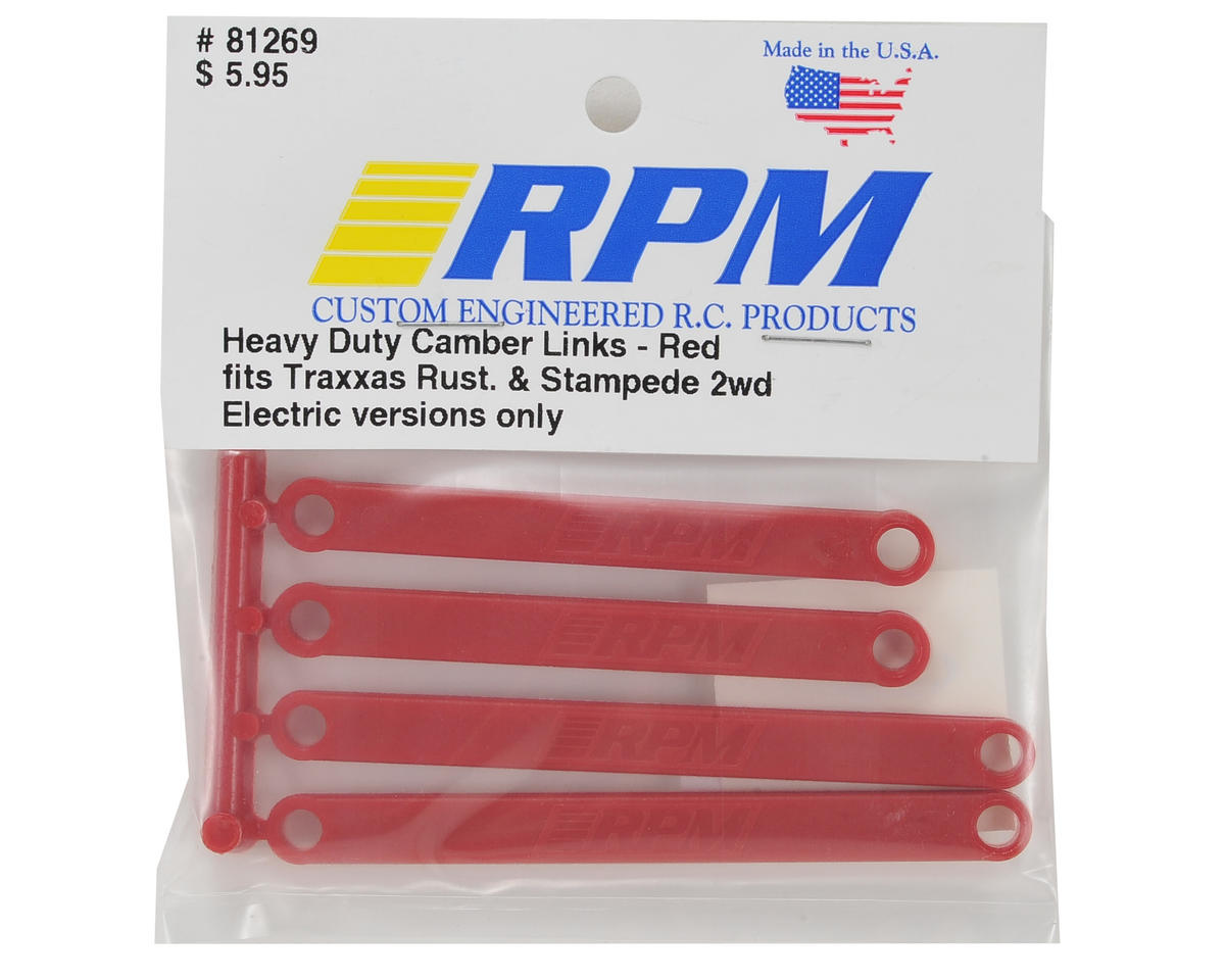 Camber Link Set (Red) (4) by RPM