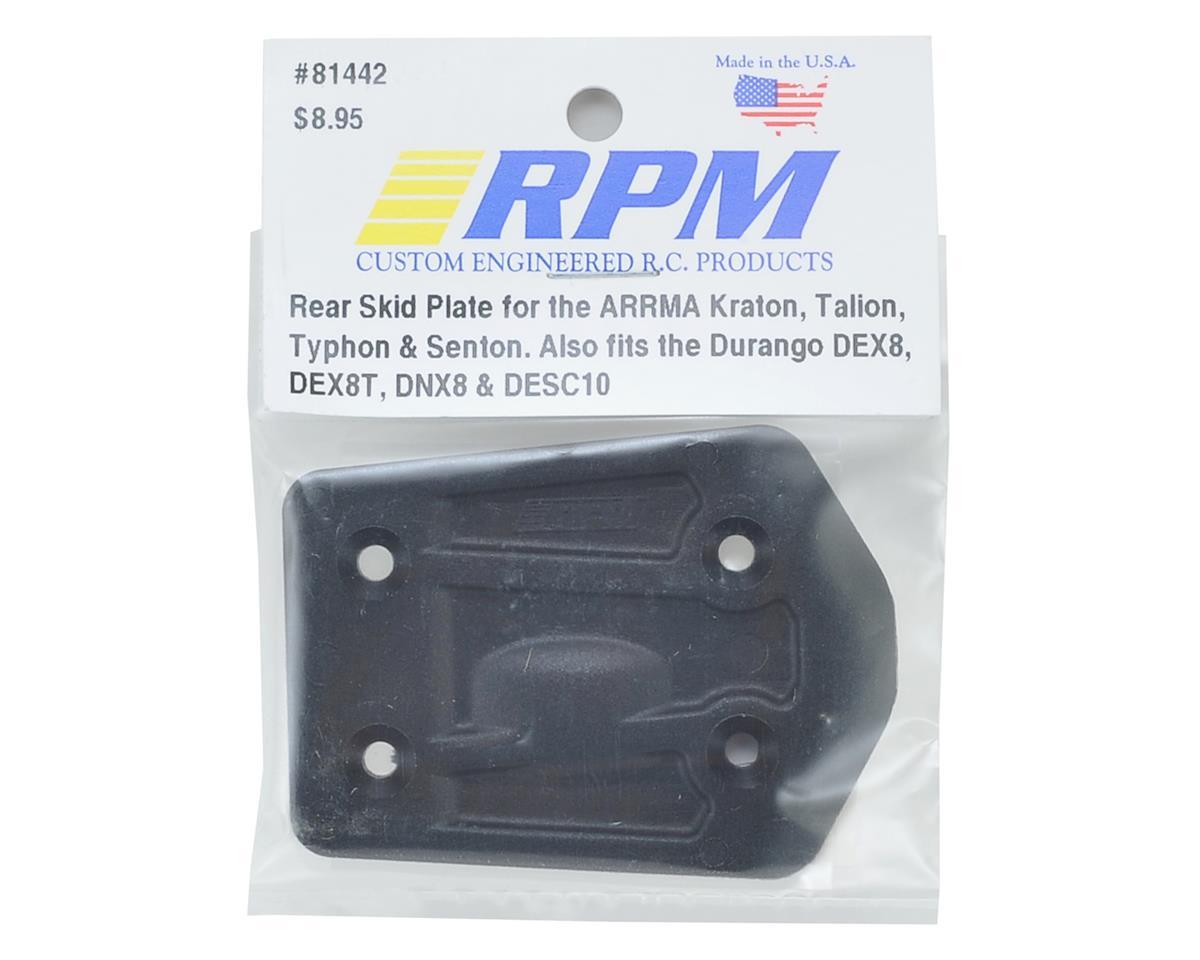 RPM ARRMA Kraton/Durango DEX8T Rear Skid Plate