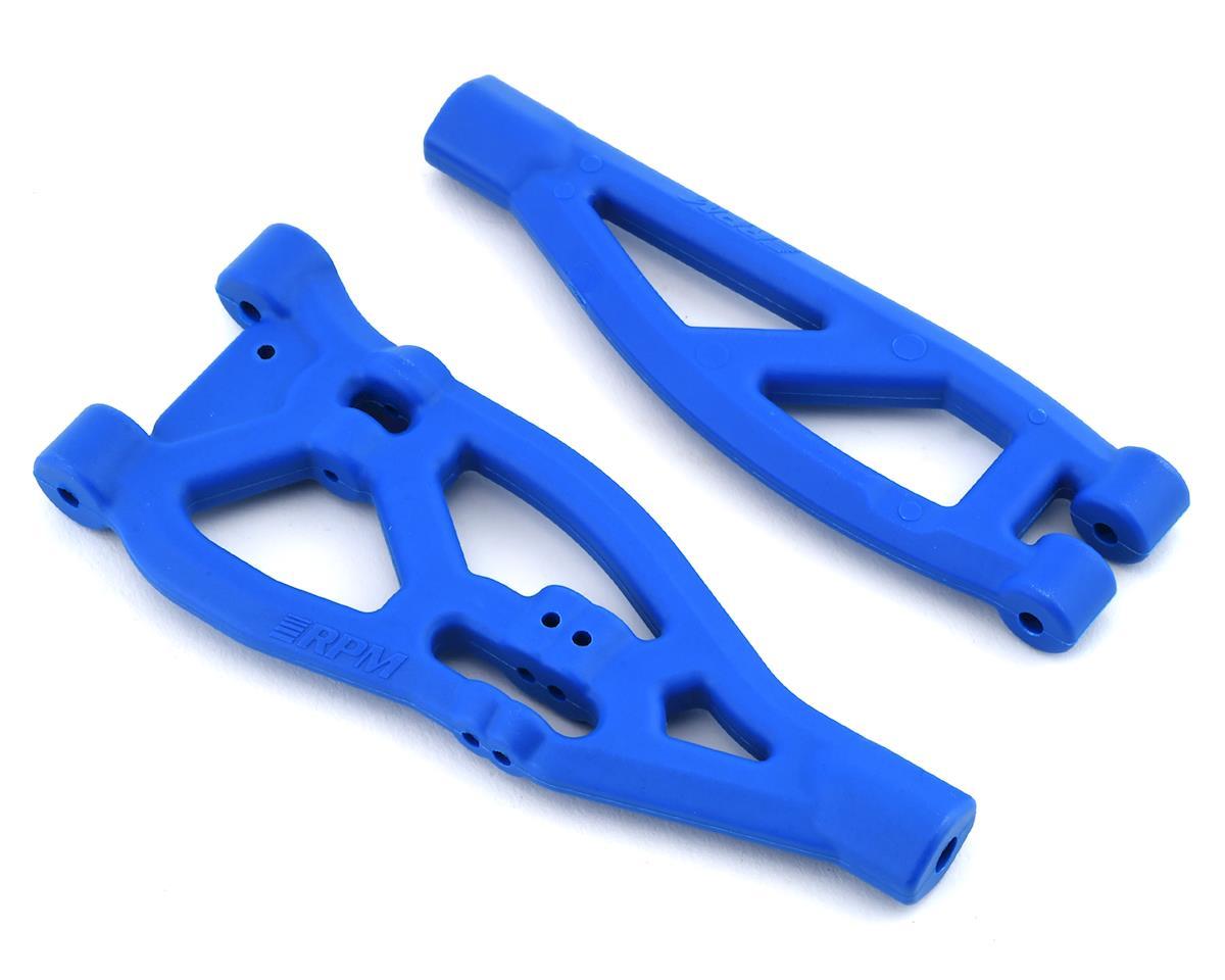 RPM Kraton/Outcast Front Upper & Lower Suspension Arm Set (Blue)