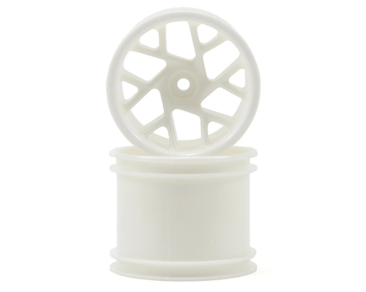 RPM Slingshot 12 Spoke Traxxas Electric Rear Wheel (2) (Dyeable White)