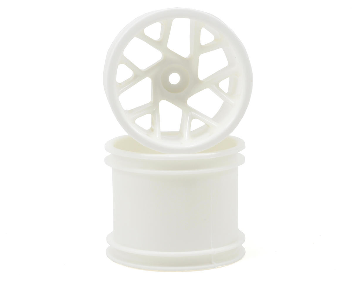"RPM ""Slingshot 12 Spoke"" Traxxas Electric Front & Nitro Rear Wheels (White) (2)"