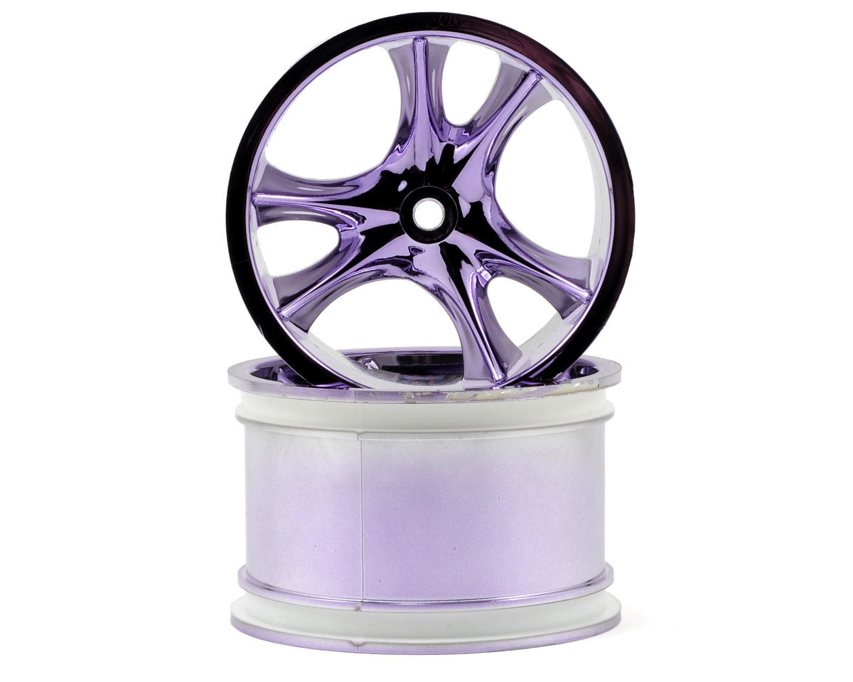 RPM Monster Clawz Monster Truck Wheel (2) (Standard Offset) (Purple Chrome)