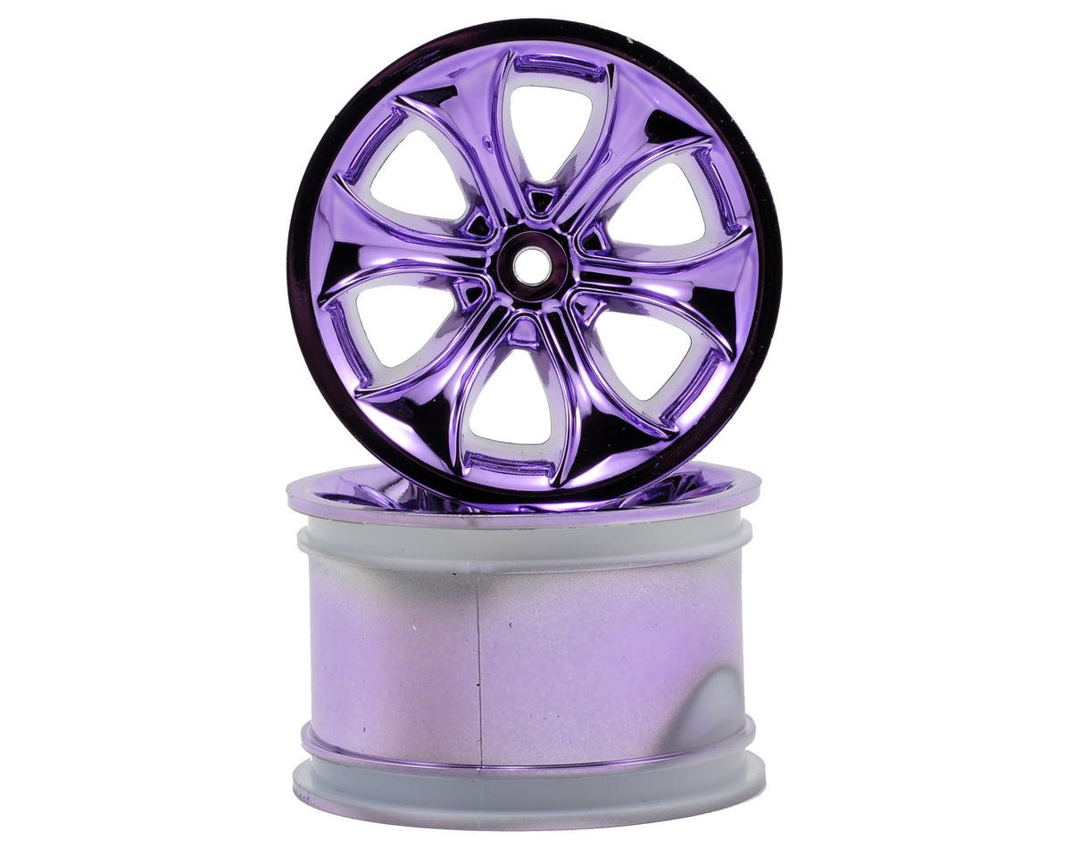 RPM Titan Monster Truck Wheel (2) (Standard Offset) (Purple Chrome)