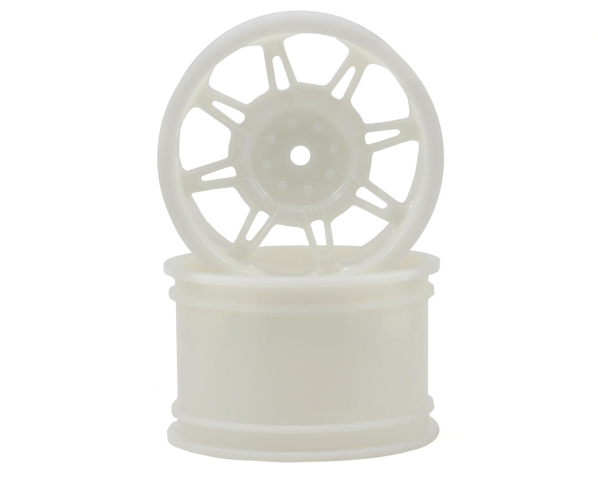 "RPM ""Monster Spider"" Monster Truck Wheels (14mm Hex) (2) (Standard Offset) (Dyeable White)"