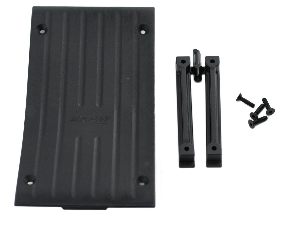 RPM Savage Center Skid Plate (Black)