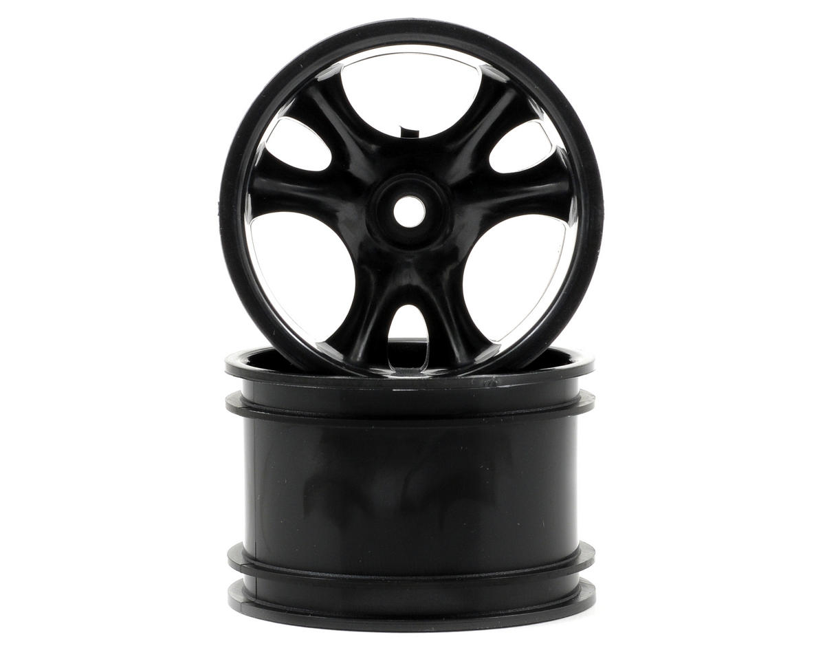 "RPM Clawz 2.2"" Rock Crawler Wheels (2) (Black) (Narrow Wheelbase)"