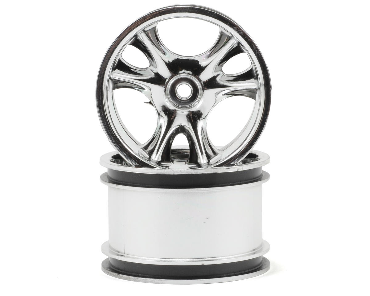 "RPM ""Clawz"" Narrow Base Crawler Wheels (2) (Chrome)"