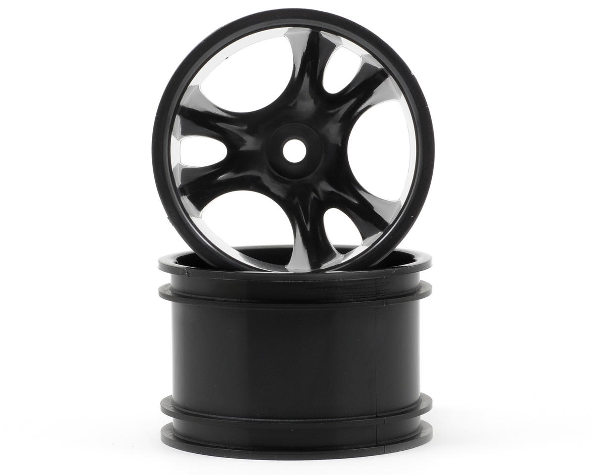 "RPM Clawz 2.2"" Rock Crawler Wheels (2) (Black) (Wide Wheelbase)"