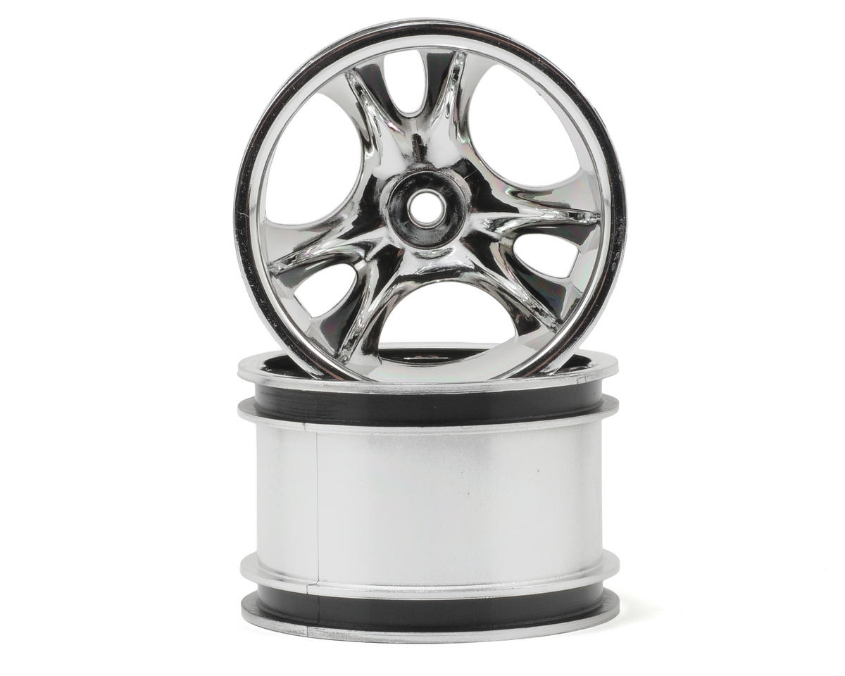 "RPM Clawz 2.2"" Rock Crawler Wheels (2) (Chrome) (Wide Wheelbase)"