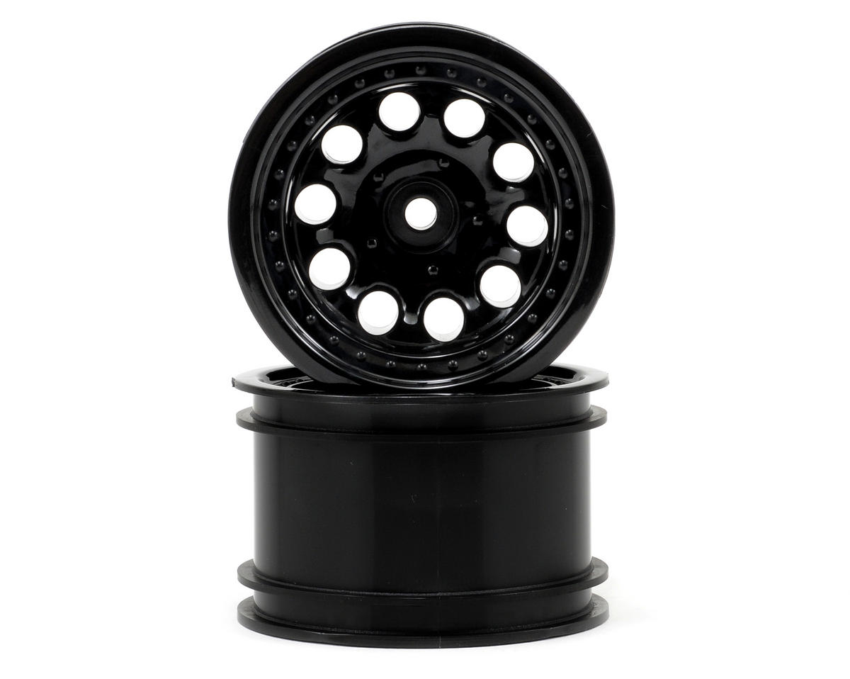 "RPM Revolver 2.2"" Rock Crawler Wheels (2) (Black) (Narrow Wheelbase)"