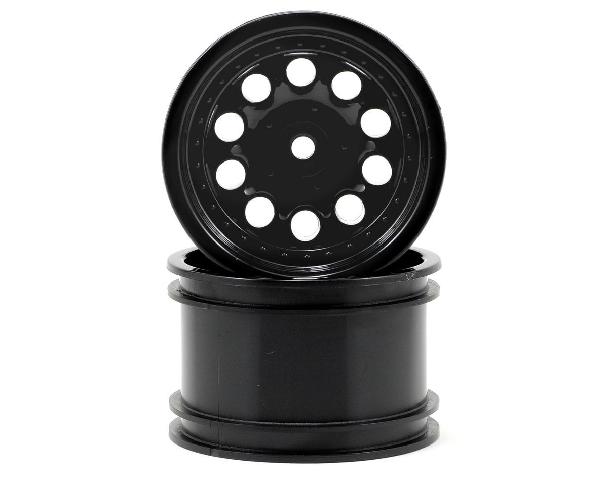 "Revolver 2.2"" Rock Crawler Wheels (2) (Black) (Wide Wheelbase)"