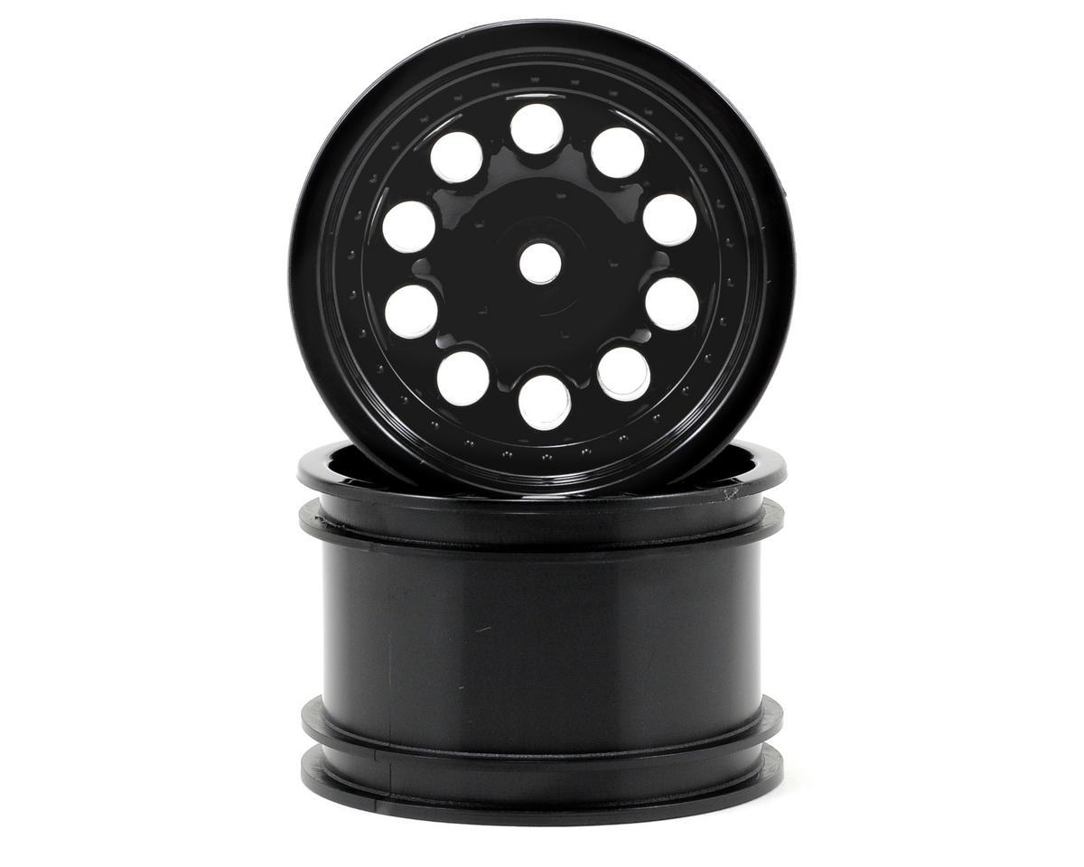 "Revolver 2.2"" Rock Crawler Wheels (2) (Black) (Wide Wheelbase) by RPM"