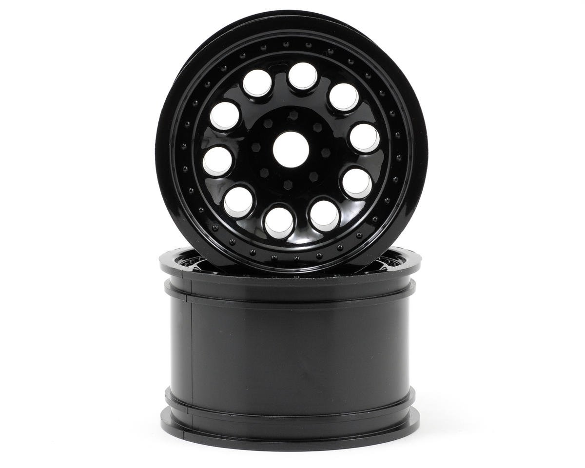 "RPM ""Revolver"" Monster Truck Wheels (17mm Hex) (2) (Standard Offset) (Black)"
