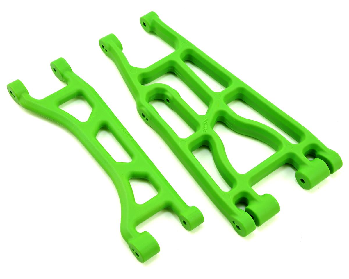 Traxxas X-Maxx Upper & Lower A-Arms (Green) (2)