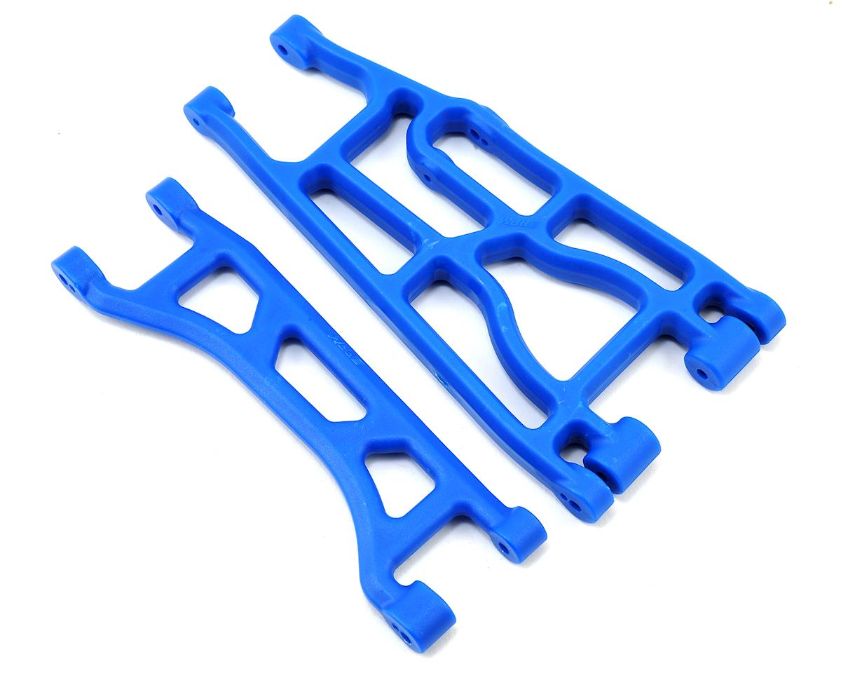 Traxxas X-Maxx Upper & Lower A-Arms (Blue) (2)
