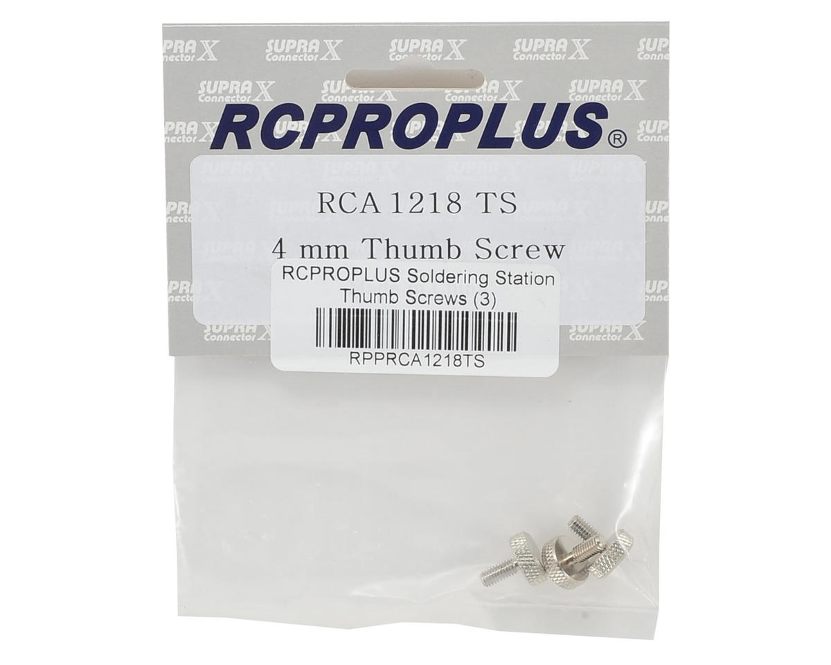 RCPROPLUS Soldering Station Thumb Screws (3)