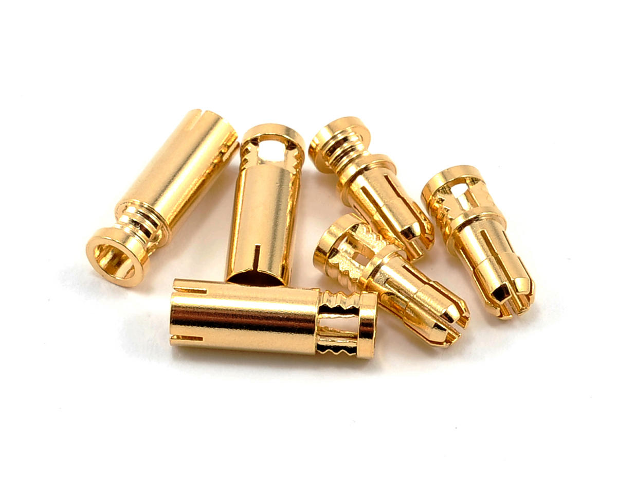 RCPROPLUS 4mm Bullet Connector (3 Sets) (12~14AWG)