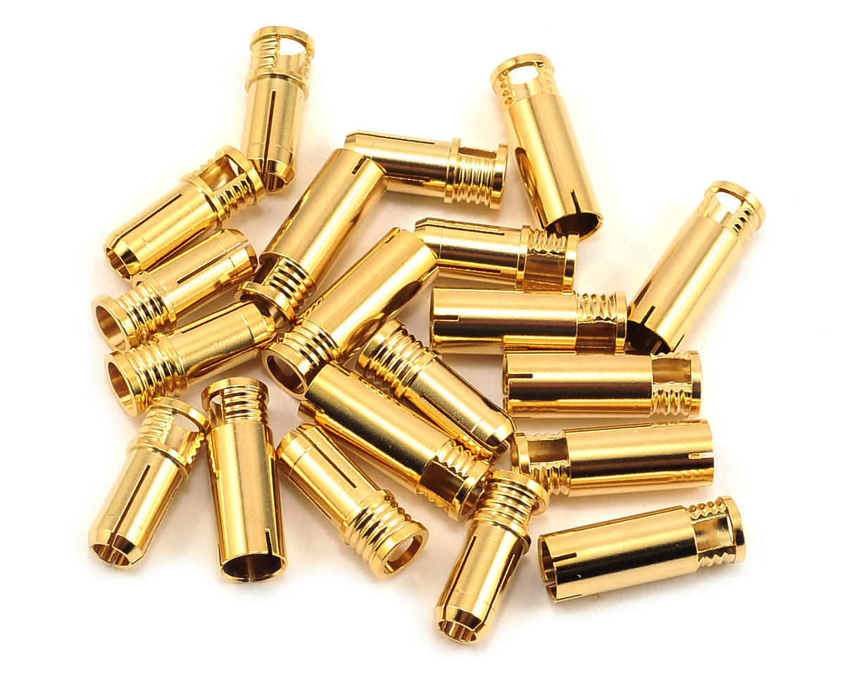 6mm Bullet Connector (10 Sets) (8~10AWG) by RCPROPLUS