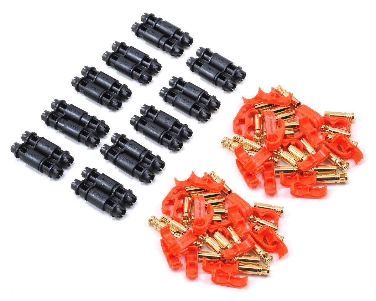 D4 Supra X Battery Connector Set (10 Sets) (12~14AWG) by RCPROPLUS