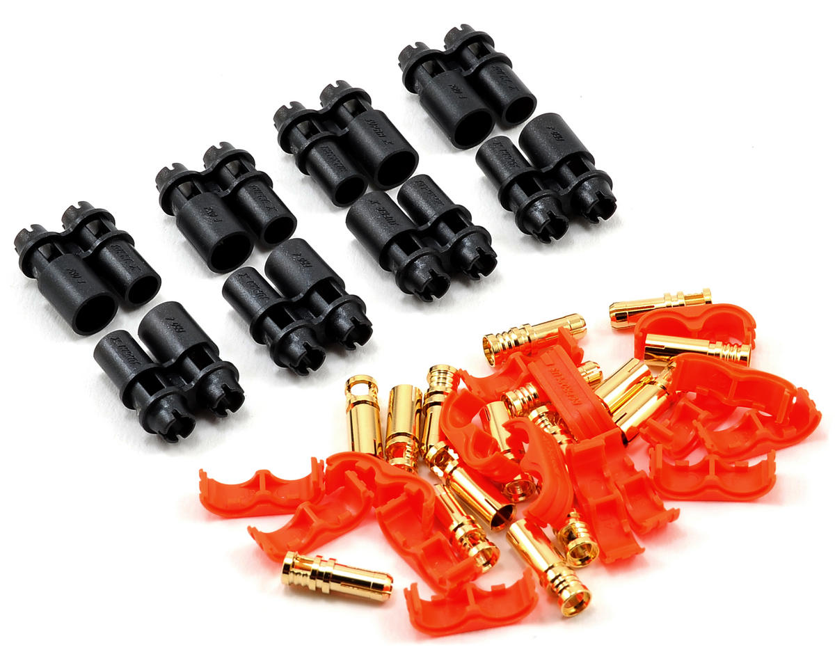 Pro-D4 Supra X Battery Connector Set (4 Sets) (12~14AWG)