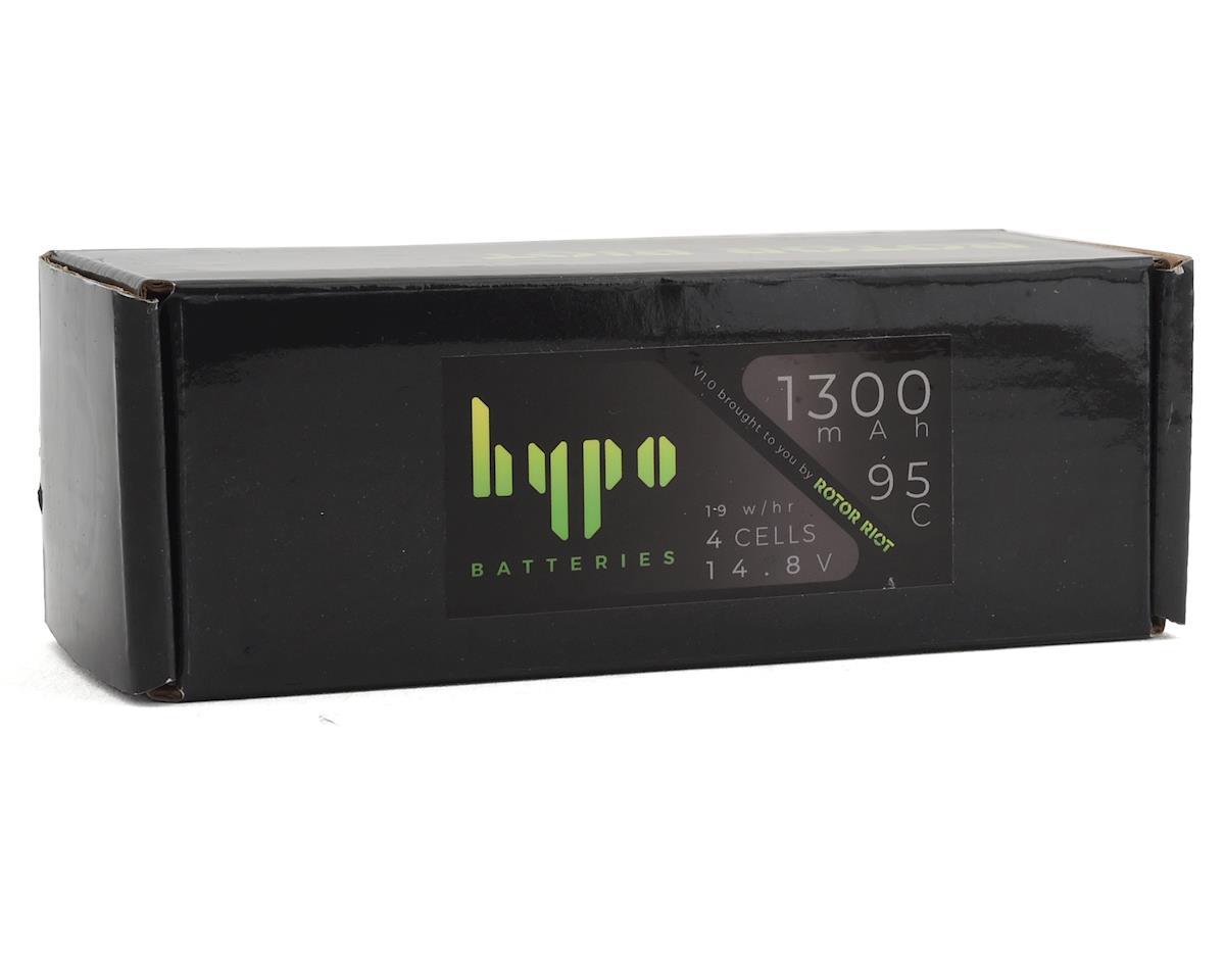 Rotor Riot HyPo 4S 95C LiPo Battery w/HyPo Checker (14.8V/1300mAh)