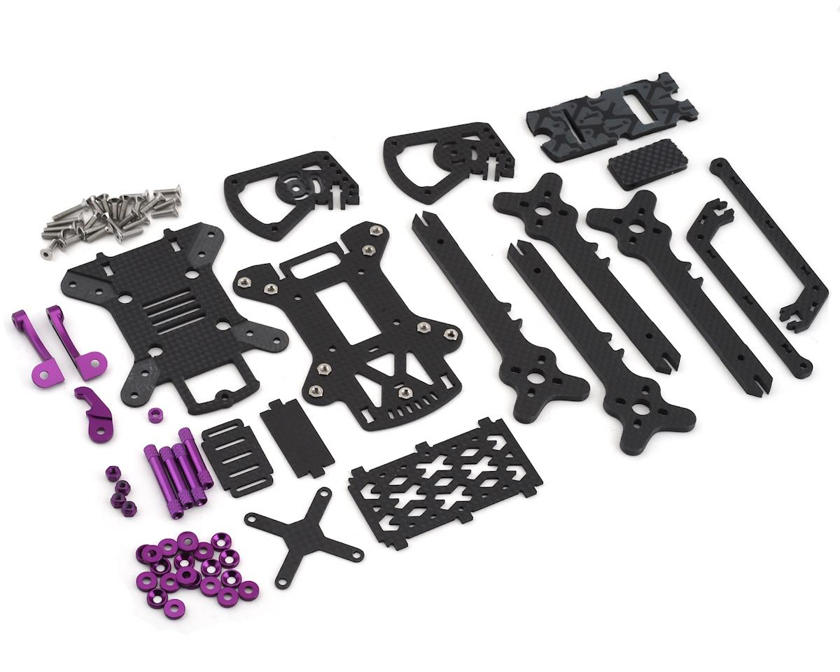 "Rotor Riot ""The Remix"" FPV Freestyle Drone Frame Kit (Purple)"