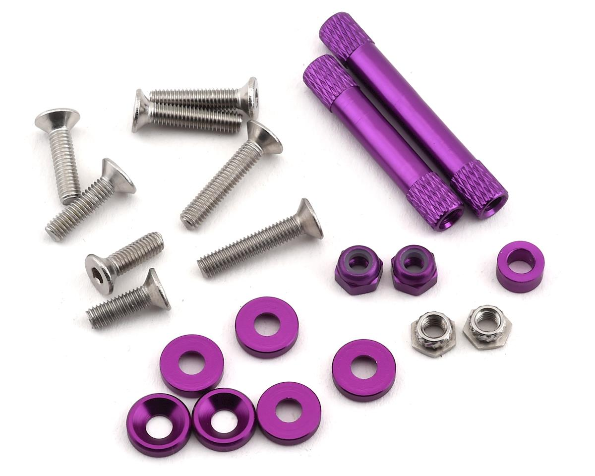Rotor Riot Remix Frame Replacement Spare Hardware Kit (Purple)