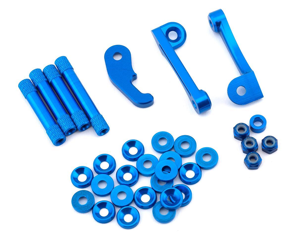 Rotor Riot The Remix Blue Aluminum Kit