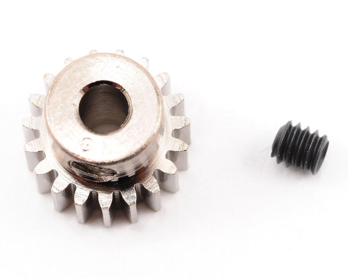 Steel 48P Pinion Gear (3.17mm Bore) (19T) by Robinson Racing