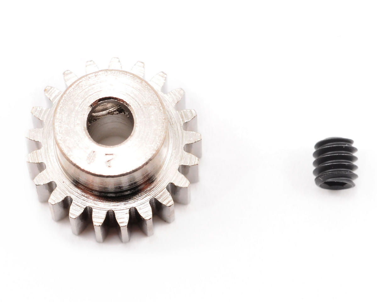 Steel 48P Pinion Gear (3.17mm Bore) (21T) by Robinson Racing