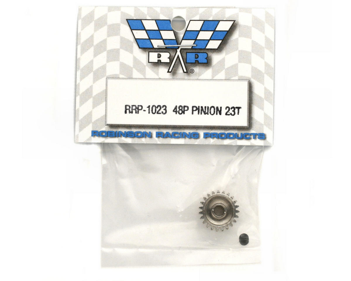 Robinson Racing Steel 48P Pinion Gear (3.17mm Bore) (23T)
