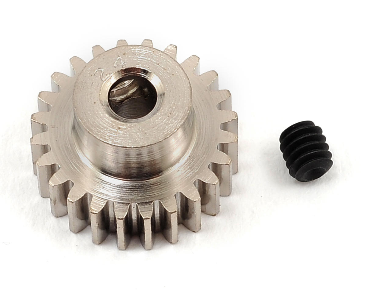 Steel 48P Pinion Gear (3.17mm Bore) (24T) by Robinson Racing