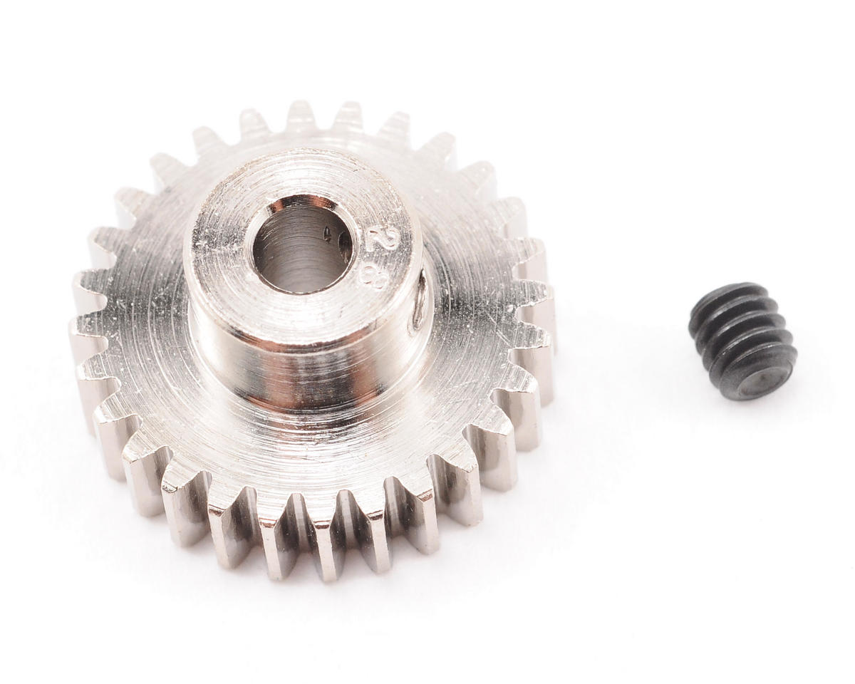 Steel 48P Pinion Gear (3.17mm Bore) (28T) by Robinson Racing