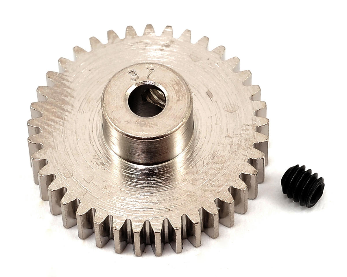 Steel 48P Pinion Gear (3.17mm Bore) (37T) by Robinson Racing