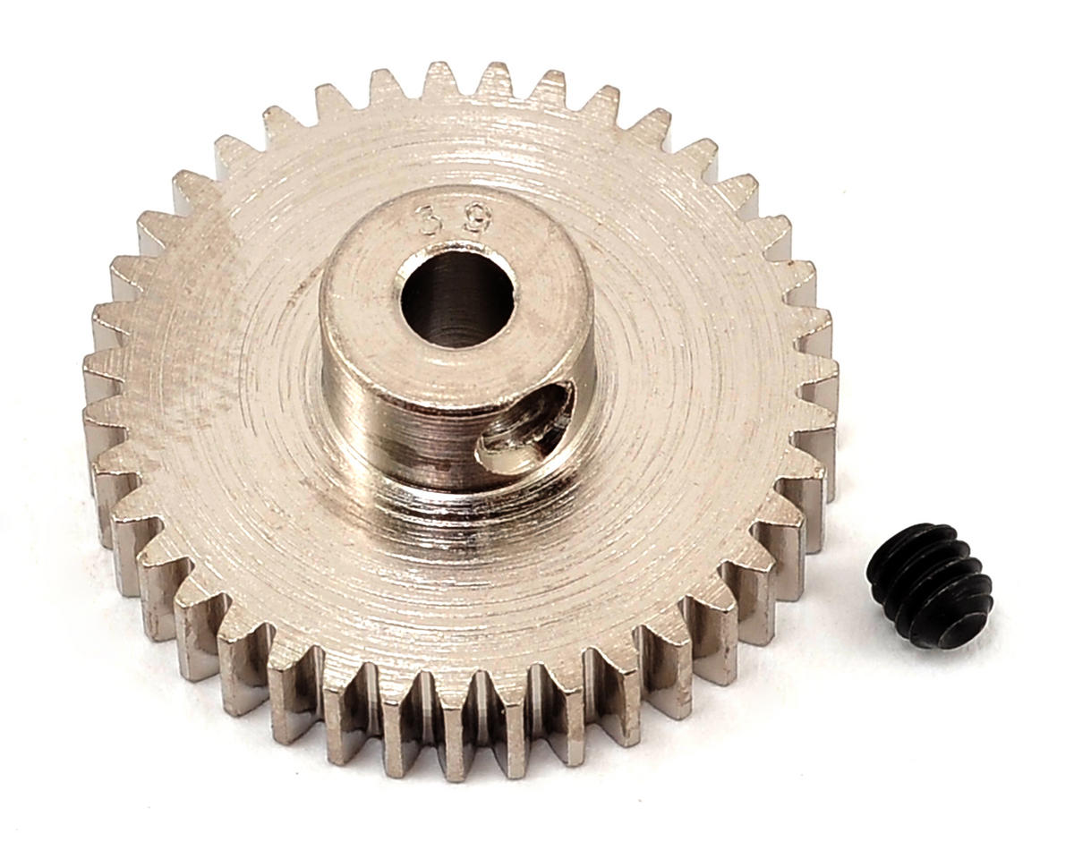 Steel 48P Pinion Gear (3.17mm Bore) (39T) by Robinson Racing