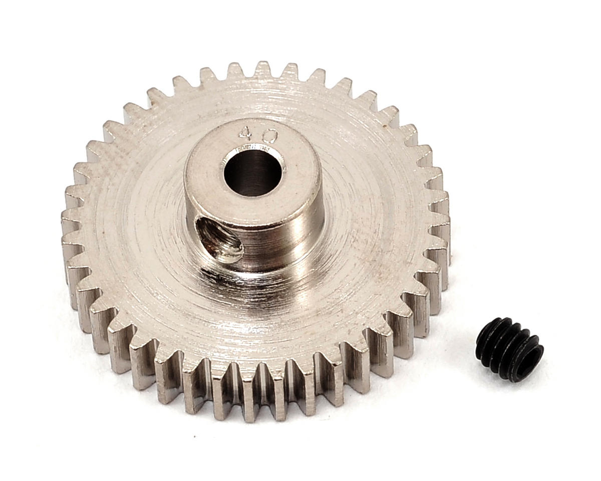 Robinson Racing Steel 48P Pinion Gear (3.17mm Bore) (40T)